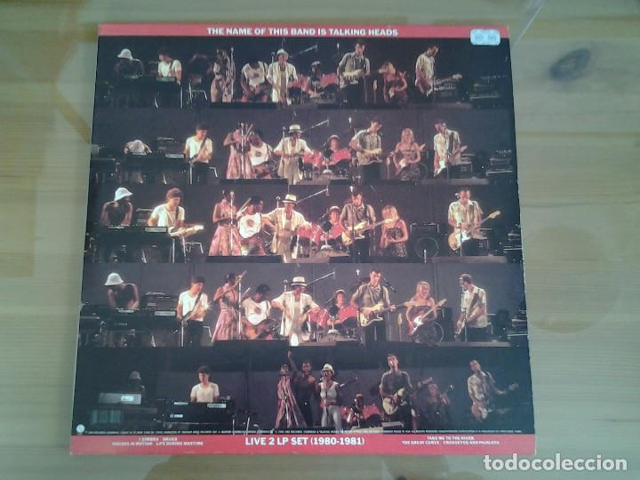 TALKING HEADS - THE NAME OF THIS BAND IS TALKING HEADS- DOBLE LP SIRE 1982 ED. AMERICANA (Música - Discos - LP Vinilo - Pop - Rock - New Wave Extranjero de los 80)