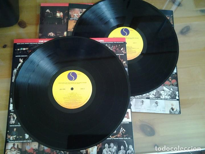 Discos de vinilo: TALKING HEADS - THE NAME OF THIS BAND IS TALKING HEADS- DOBLE LP SIRE 1982 ED. AMERICANA - Foto 3 - 110025715