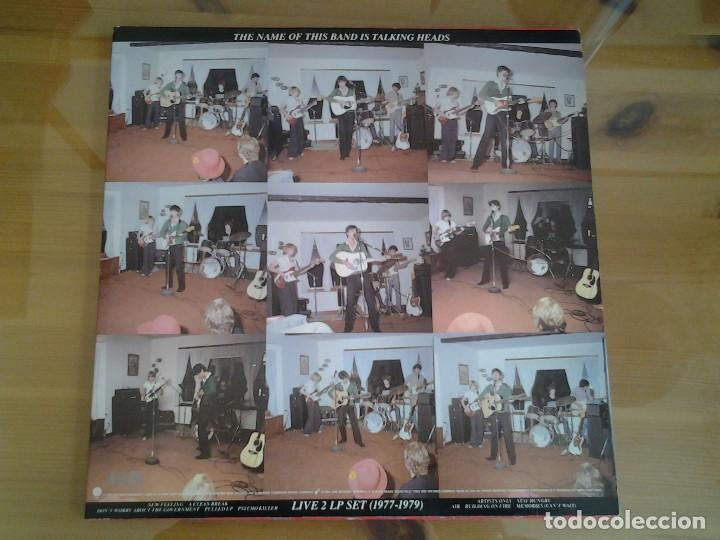 Discos de vinilo: TALKING HEADS - THE NAME OF THIS BAND IS TALKING HEADS- DOBLE LP SIRE 1982 ED. AMERICANA - Foto 5 - 110025715