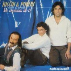 Discos de vinilo: RICCHI & POVERI - ME ENAMORO DE TI - LP CANTADO EN ESPAÑOL . Lote 110036203