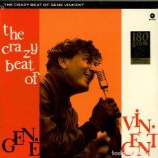 Discos de vinilo: THE CRAZY BEAT OF GENE VINCENT * LP 180G LIMITED EDITION* VIRGIN VINYL PRESSING FOR SUPER FIDELITY. Lote 173355795