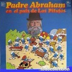 Discos de vinilo: PADRE ABRAHAM. EN EL PAIS DE LOS PITUFOS. LP 1978 CARNABY . Lote 110042527