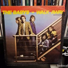 Discos de vinilo: THE BABYS - WALK AWAY (MARCHATE). Lote 110043199