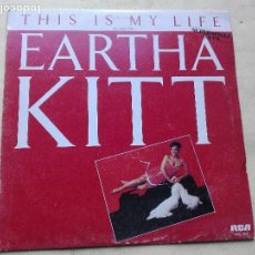 Discos de vinilo: EARTHA KITT - THIS IS MY LIFE. Lote 110047563