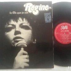 Discos de vinilo: RÉGINE – LA FILLE QUE JE SUIS. Lote 110062551