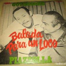 Discos de vinilo: GOYENECHE PIAZZOLLA - ED. PERU . Lote 110067563