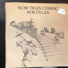 Discos de vinilo: SLOW TRAIN COMING. BOB DYLAN. Lote 110084734
