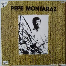 Discos de vinilo: PEPE MONTARAZ...PROMOCIONAL...NM. Lote 110098919