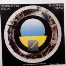 Discos de vinilo: TANGERINE DREAM- DESTINATION BERLIN- GERMAN LP 1989 - VINILO COMO NUEVO.. Lote 110099007