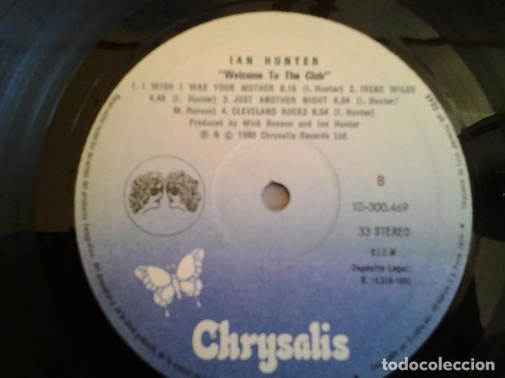 Discos de vinilo: IAN HUNTER -WELCOME TO THE CLUB - DOBLE LP EN DIRECTO CHRYSALIS 1980 ED. ESPAÑOLA XD-300.469 MUY BUE - Foto 2 - 110105619