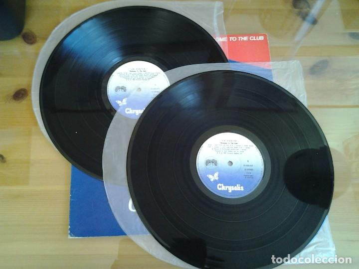 Discos de vinilo: IAN HUNTER -WELCOME TO THE CLUB - DOBLE LP EN DIRECTO CHRYSALIS 1980 ED. ESPAÑOLA XD-300.469 MUY BUE - Foto 3 - 110105619