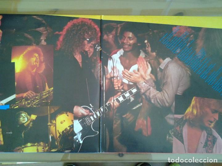 Discos de vinilo: IAN HUNTER -WELCOME TO THE CLUB - DOBLE LP EN DIRECTO CHRYSALIS 1980 ED. ESPAÑOLA XD-300.469 MUY BUE - Foto 4 - 110105619