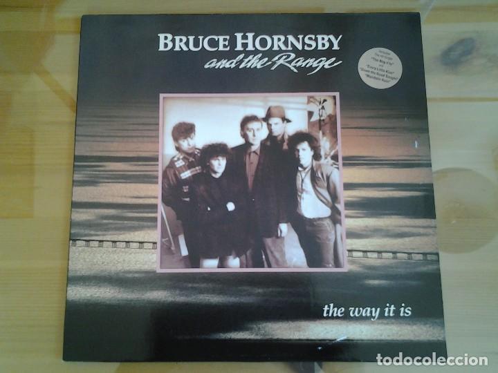 BRUCE HORNSBY AND THE RANGE -THE WAY IT IS- RCA 1986 ED. ALEMANA PL89901 EN MUY BUENAS CONDICIONES. (Música - Discos - LP Vinilo - Pop - Rock - New Wave Extranjero de los 80)