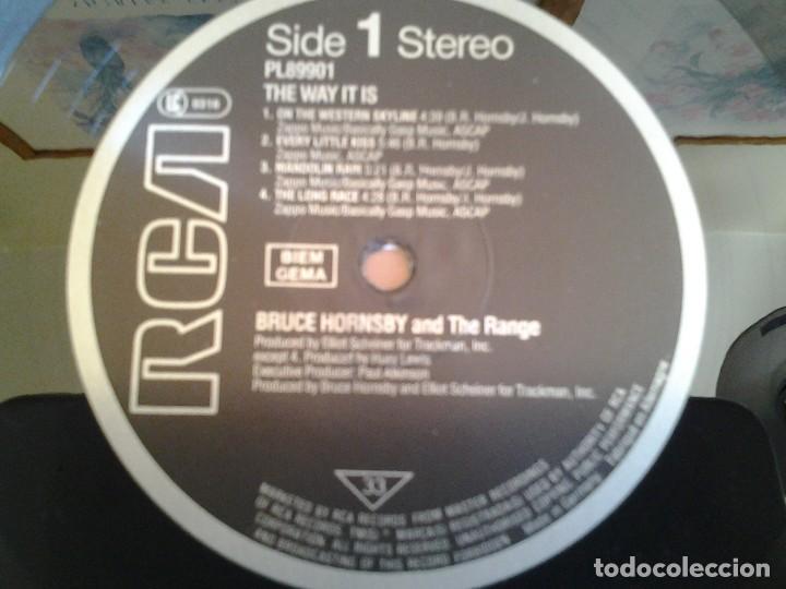 Discos de vinilo: BRUCE HORNSBY AND THE RANGE -THE WAY IT IS- RCA 1986 ED. ALEMANA PL89901 EN MUY BUENAS CONDICIONES. - Foto 2 - 110106083