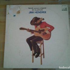 Discos de vinilo: JIMI HENDRIX - BANDA SONORA ORIGINAL DE LA PELICULA- REPRISE 1973 DOBLE LP 500-35/36 S ED. ESPAÑOLA.. Lote 110108043