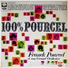 Discos de vinilo: 100 % FRANCK POURCEL ET SON GRAND ORCHESTRE - LP SPAIN 1968. Lote 110113547