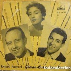 Discos de vinilo: FRANCK POURCEL / GLORIA LASSO / LUIS MARIANO – CANASTOS / AMOR NO ME QUIERAS TANTO + 2 - EP 1956 . Lote 110115135