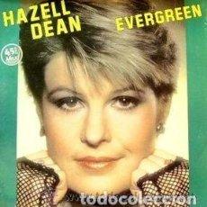 Discos de vinilo: HAZELL DEAN - EVERGREEN / JEALOUS LOVE, MAXI-SNGLE SPAIN 1984. Lote 110117651