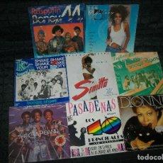 Discos de vinilo: LOTE DE 8 SINGLES DE MUSICA - FUNKY- SOUL - DISCO - WHITNEY HOUSTON, BONEY M , SINITTA, .. ETC. Lote 110118059