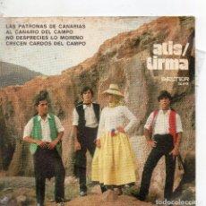 Discos de vinilo: FOLKLORE CANARIO - EP 1971 - ATIS/TIRMA - CRECEN LOS CARDOS DEL CAMPO + 3. Lote 110118639