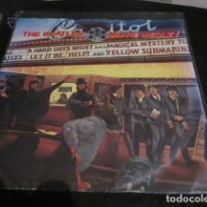 Discos de vinilo: THE BEATLES - MOVIE MEDLEY - SN - EDICION INGLESA DEL AÑO 1982 - EMI R 6055.. Lote 110121971