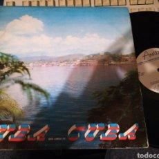 Discos de vinilo: CUBA QUE LINDA ES CUBA LP AREITO.VER CONTENIDO EN FOTO /2. Lote 110124810