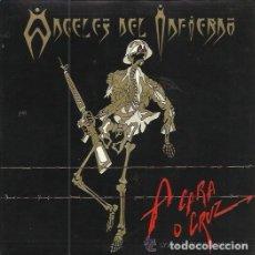 Discos de vinilo: ANGELES DEL INFIERNO: A CARA O CRUZ WEA 1993 PROMOCIONAL. Lote 110129223