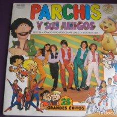 Discos de vinilo: PARCHIS Y SUS AMIGOS - DOBLE LP BELTER 1981 - TVE TELEVISION - REGALIZ - NINS - PETETE - PRECINTADO. Lote 262295095