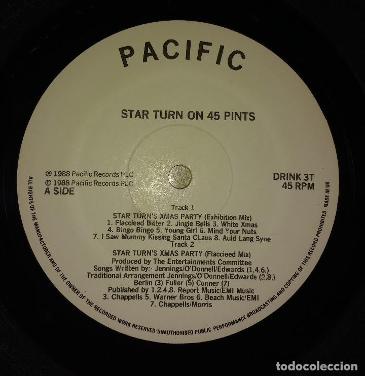 Discos de vinilo: Star Turn on 45 Pints– Xmas Party (Flacceeed Mix) - Foto 5 - 110151667