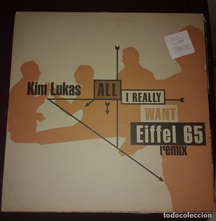 KIM LUCAS - ALL I REALLY WANT EIFFEL 65 REMIX (Música - Discos de Vinilo - Maxi Singles - Techno, Trance y House)