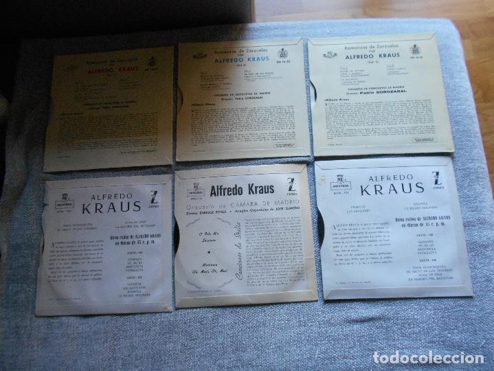 Discos de vinilo: LOTE 6 DISCOS ALFREDO KRAUS VALENCIACANCIONES ITALIANAS EXITOS ROMANZAS 1 , 2 ,3 AÑOS 50 60 B.E. - Foto 7 - 110158575
