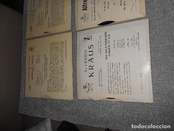 Discos de vinilo: LOTE 6 DISCOS ALFREDO KRAUS VALENCIACANCIONES ITALIANAS EXITOS ROMANZAS 1 , 2 ,3 AÑOS 50 60 B.E. - Foto 8 - 110158575