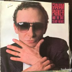Discos de vinilo: AND THE SHOT STEADY NERVES. GRAHAM PARKER. Lote 110159023