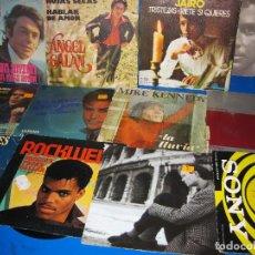 Discos de vinilo: VINILO LOTE DE 12 SINGLES EPS VINILOS SOLO ELLOS- DESCATALOGADOS. Lote 110159655