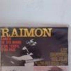 Discos de vinilo: RAIMON - CANÇO DE LES MANS + D'UN TEMPS, D'UN PAIS + PERDUTS + TOT SOL (EP) - CATALA. Lote 110163512