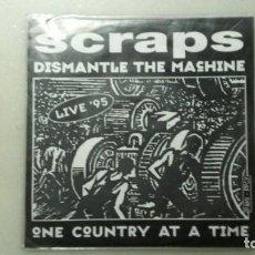 Discos de vinilo: DISCO SINGLE HARD CORE SCRAPS DISMANTLE THE MACHINE. Lote 110169307