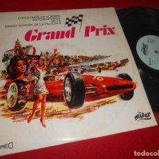 Discos de vinilo: GRAND PRIX - GRAN PRIX BSO OST MAURICE I JARRE LP 1967 MIZAR EDICION ESPAÑA SPAIN. Lote 110183659