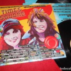 Discos de vinilo: TIMES SQUARE BSO OST 2LP 1980 RSO GATEFOLD EDICION ESPAÑA SPAIN RECOPILATORIO THE PRETENDERS+ETC. Lote 110184599