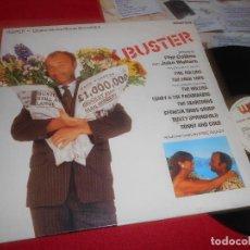 Discos de vinilo: BUSTER BSO OST LP 1988 WEA EDICION ESPAÑA SPAIN RECOPILATORIO PHILL COLLINS+THE FOUR TOPS+ETC. Lote 110184823