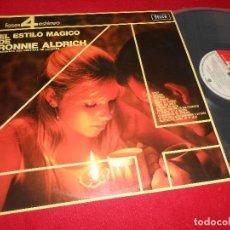 Discos de vinilo - RONNIE ALDRICH EL ESTILO MAGICO DE RONNIE ALDRICH LP 1965 DECCA EDICION ESPAÑOLA SPAIN - 110186227