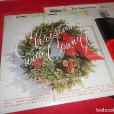 Discos de vinilo: CHRISTMAS WITH CONNIFF THE RAY CONNIFF SINGERS LP COLUMBIA EDICION AMERICANA USA. Lote 110188559
