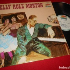 Discos de vinilo: JELLY ROLL MORTON LP 1985 GIANTS OF JAZZ EDICION ITALY ITALIA. Lote 110189215