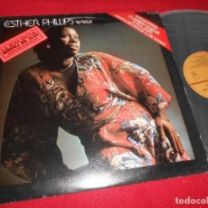 Discos de vinilo: ESTHER PHILLIPS WITH JOE BECK LP 1983 CTI EDICION ESPAÑOLA SPAIN. Lote 110190363