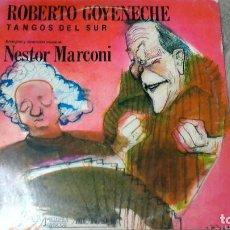 Disques de vinyle: ROBERTO GOYENECHE -TANGOS DEL SUR- LP 1989 MELOPEA DISCOS ARGENTINA. Lote 110217283