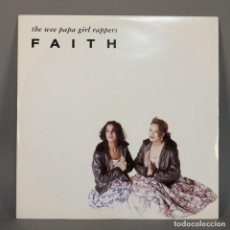Discos de vinilo: MAXI VINILO. THE WEE PAPA GIRL RAPPERS - FAITH. RAP / HIP HOP. ALEMANIA 1988 (BRD). Lote 110220487