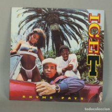 Discos de vinilo: LP VINILO. ICE T - RHYME PAYS UP. WARNER 1987. RAP / HIP HOP (BRD). Lote 110226283
