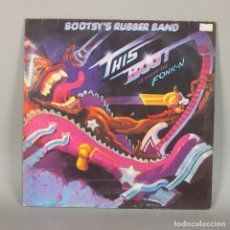 Discos de vinilo: LP VINILO. BOOTSY RUBBER BAND - THIS BOOT ITS MADE FOR FONK-N. RAP/HIPHOP 1979 (BRD). Lote 110226767