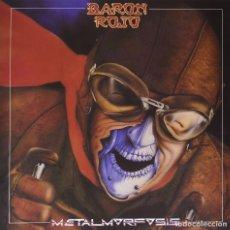 Discos de vinilo: LP BARON ROJO METALMORFOSIS VINILO HEAVY METAL. Lote 110228987