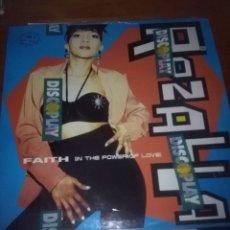 Discos de vinilo: BASIC MIX ROZALLA. FAITH. B16V. Lote 110230771