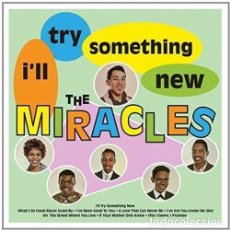 Discos de vinilo: LP THE MIRACLES I'LL TRY SOMETHING NEW VINILO SOUL. Lote 110234731